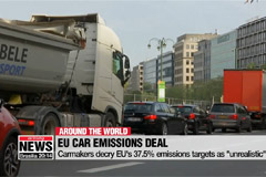 "Carmakers decry new EU emissions targets as ""unrealistic"""