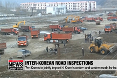 Two Koreas to jointly inspect N. Korea's eastern and western roads for four days