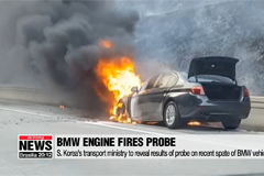 S. Korea's transport ministry to reveal results of probe on recent spate of BMW vehicle fires