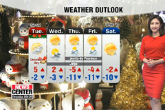No snow for Christmas, but cloudy