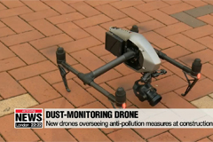 Using drone technology to clear up skies from fine dust clouds