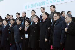 Ministers of Seoul, Pyeongyang stress connecting transport network would bring prosperity