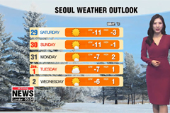 Stay bundled, Korea in a grip of severe cold snap