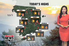 Cold and dry across the country