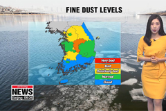 Cold snap to ease but dusty in some regions