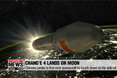 Chinese probe Chang'e 4 lands on the far side of the moon