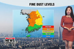 Temperatures rise a touch but dust sweeps in
