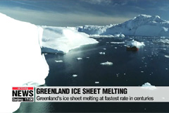 Greenland's ice sheet melting at fastest rate in centuries