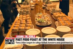 Trump orders burgers for college football champions amid government shutdown