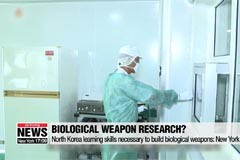 North Korea learning skills necessary to build biological weapons: New York Times