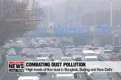 India, Thailand, and China suffer from fine dust pollution