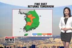 Warmer temps, dust pollution to return tomorrow
