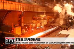 EU to impose steel import curbs on over 20 categories until mid-2021