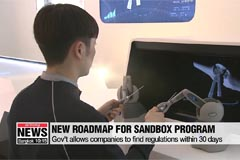 'Regulatory sandbox' program launched in South Korea