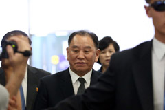 N. Korea's top nuclear negotiator en route to Washington for talks with Pompeo