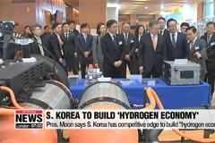 President Moon pledges to establish 'Hydrogen Economy'
