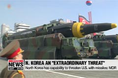 Trump's new missile defense review calls N. Korea