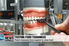 New 'chewing robot' helps develop softer food for the elderly