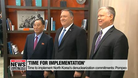 Senior officials from N. Korea, U.S. hold talks in Sweden to prepare for second summit between their leaders