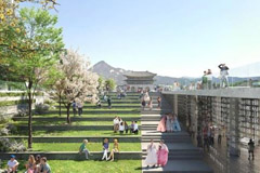 Seoul to expand pedestrian area, cultural spaces, parks at Gwanghwamun Square