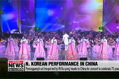 North Korean art troupe heads to China for concert to celebrate 70 years of ties