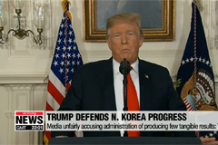 Trump defends progress with N. Korea ahead of second summit