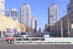 UNSC allows IFRC to supply humanitarian aid to North Korea