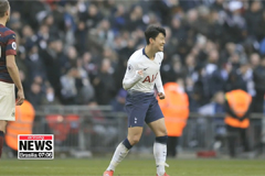 Son Heung-min scores in 2nd straight match; 10 league goals this season