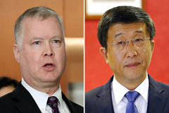 U.S. nuclear envoy in Pyeongyang for working-level talks on second Kim-Trump summit
