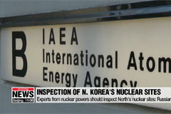 N. Korea's nuclear sites must be inspected by experts from nuclear powers: Russian Amb.