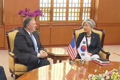 S. Korean FM Kang to hold bilateral talks with Pompeo in Warsaw on Thursday