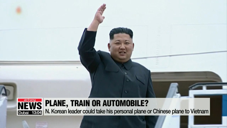 Speculation over how N. Korean leader will travel to Hanoi and what he will do there