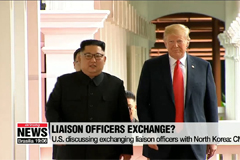 U.S. discussing exchanging liaison officers with North Korea: CNN