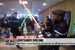 'Lightsaber Dueling' recognized as official sports in France
