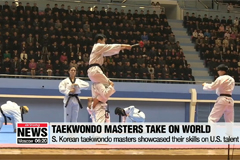 S. Korean group of taekwondo masters aim to become 'world's best'