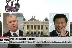 Negotiators of North Korea, U.S. expected to arrive in Hanoi on Wednesday