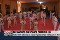 Taekwondo adopted as part of regular school curriculum in Honduras
