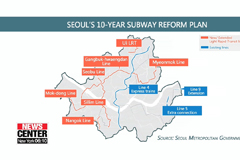 Seoul to expand subway lines, extensions, reducing commute time by 15 percent