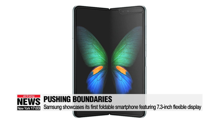 Samsung Electronics showcases its most daring smartphone line-up yet, revealing first foldable phone and new Galaxy S10s
