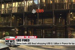 Swiss bank UBS fined whopping $5.1 billion in France for tax fraud