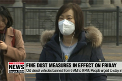 Fine dust emergency measures to be issued on Friday
