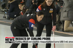 Ministry of Sports announces investigation results surrounding Winter Olympic silver medalist curlers