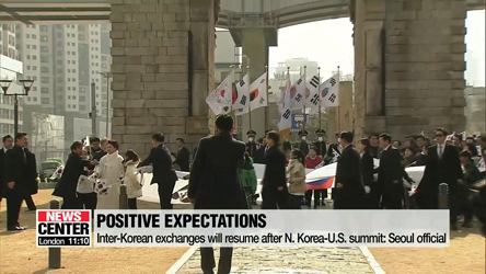 Inter-Korean cooperation has been considered as sanctions relief for N. Korea: Official