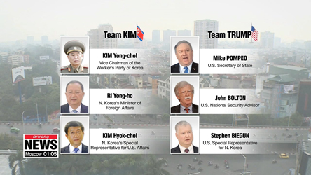 Hanoi summit: closer look at N. Korea, U.S. rosters
