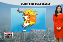 Most areas in a grip of ultra fine dust