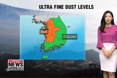 Ultra fine dust to rise in western areas