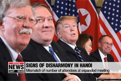 Signs of disharmony between U.S. and N. Korea were seen throughout summit
