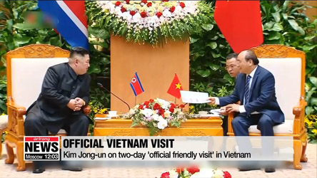 Kim Jong-un meets Vietnamese leader day after summit with U.S. ends early