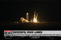 SpaceX Crew Dragon spacecraft launches successfully