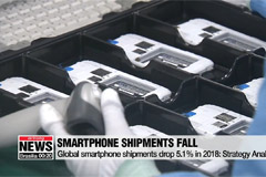 Global smartphone shipments drop 5.1% in 2018